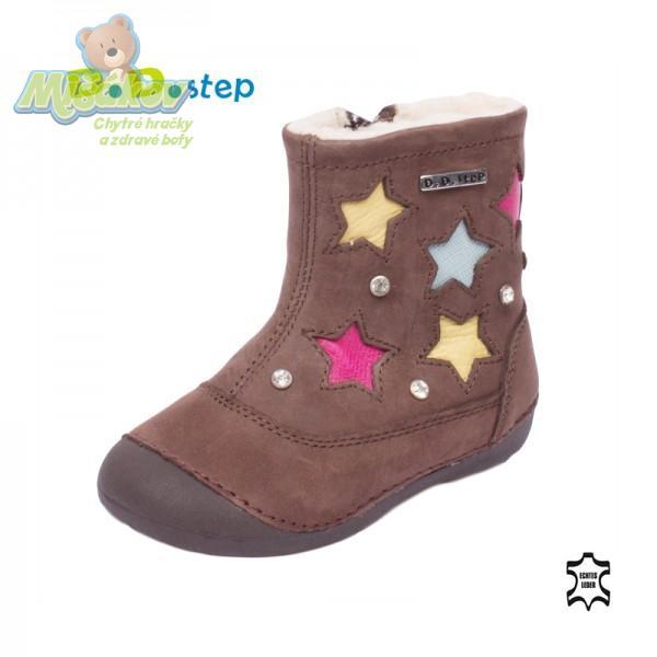 db9b36f65da DD step dětská zimní obuv 015-101 19-24
