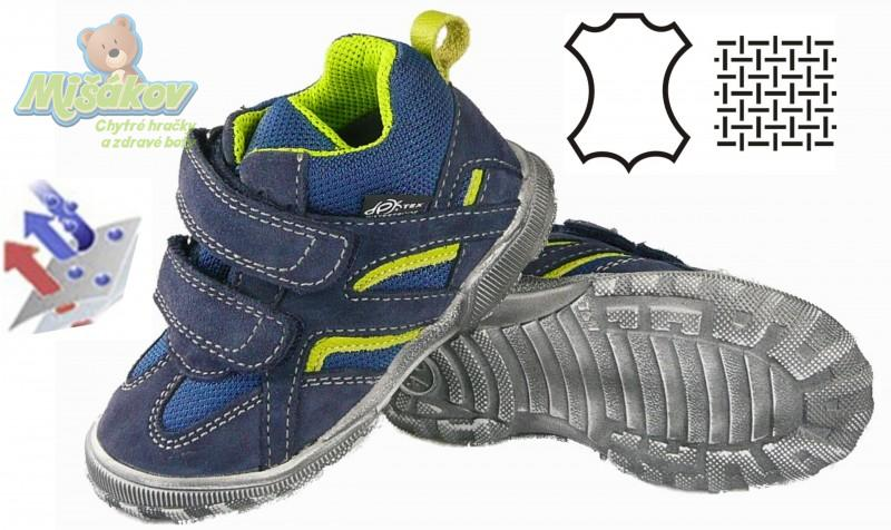 8f10919b70c DPK dětská celoroční obuv s mebránou K59017-2W-TEX-1M-0818 vel.23-26