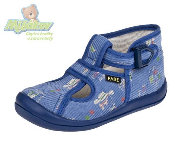 bacf826814 FARE dětská domácí obuv 4114408 vel.27