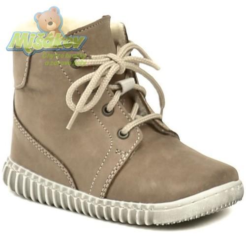 5601daeddf9 Pegres dětská zimní obuv 1705 béžová