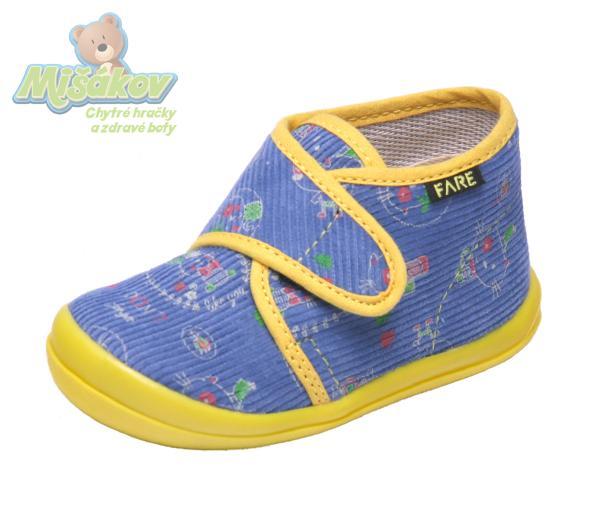 6c58b0bf2 FARE dětská domácí obuv 4012406
