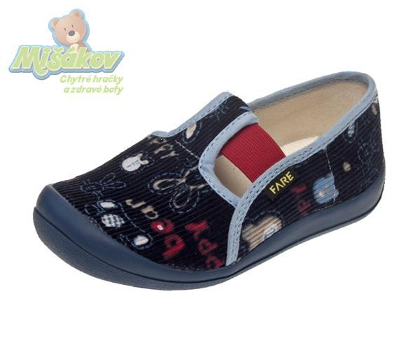 87dae25362 FARE dětská domácí obuv 4111405