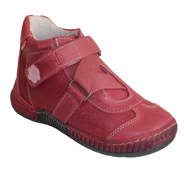 73516c646f6 Dětské boty jarní kožené kotníčkové suchý zip PEGRES 1403.00 do 26