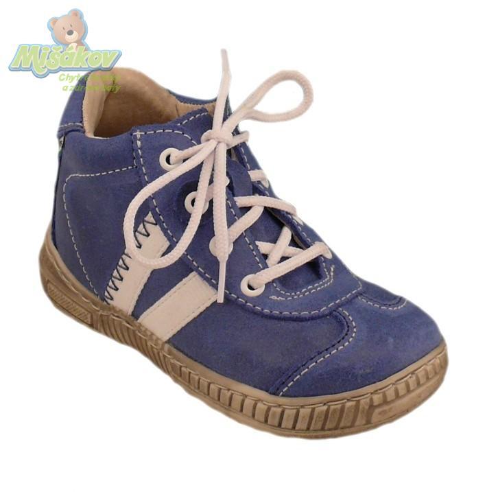 PEGRES dětská obuv kožená kotníčková - šněrovací 1401.00 19-26 07ad43bd7b