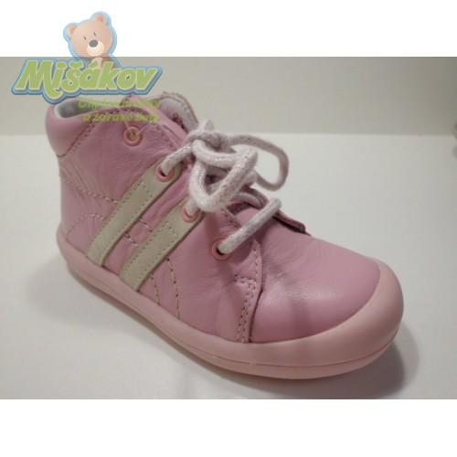 DPK dětská obuv kožená - capáčky K51201-KUBI-0505 4bf232887b