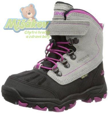 VIKING dětská zimní obuv 3-83170-7717 ICICLE EL VEL GTX 8926039b56