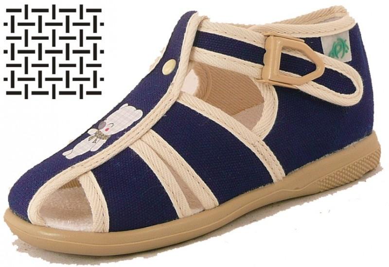 6bea6f6c442 DPK dětská domácí obuv - textil K57011-ZA-0802 empty