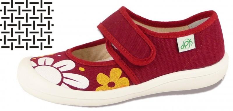 4eac8e2ba69 DPK dětská domácí obuv - textil K57008-SIT-AS-1301 empty