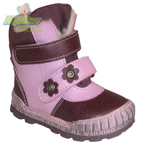 08276a076e5 Pegres dětská obuv zimní 1702.01 vel.20-26